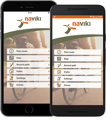 Naviki apps for cycling