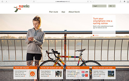 naviki berall beste fahrrad routen und navigation. Black Bedroom Furniture Sets. Home Design Ideas